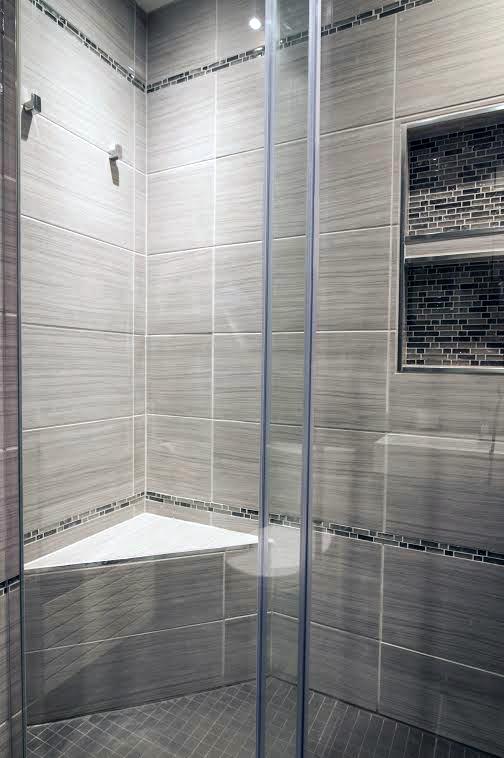 Salle de bain avant apr s creations nadia for Peindre carrelage salle de bain avant apres