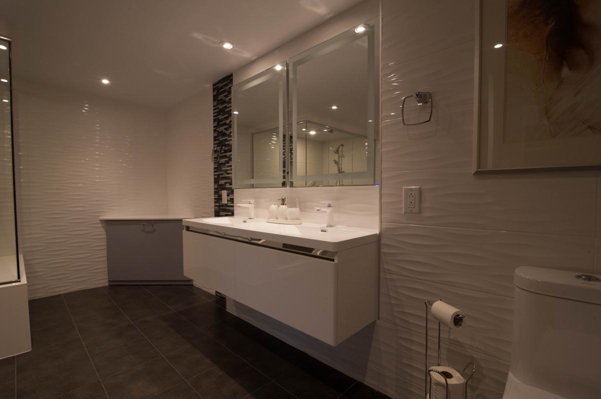 Magasin Cuisine Et Salle De Bain Quebec ~ salle de bain de ma tre cote st luc condo montreal creations